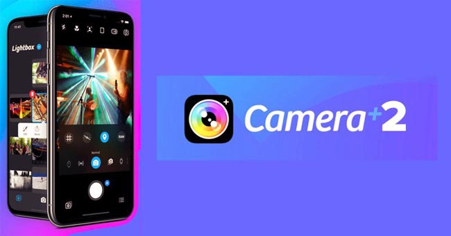 Camera +2 app iOS